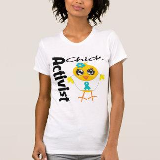 Polluelo del activista del cáncer ovárico camiseta