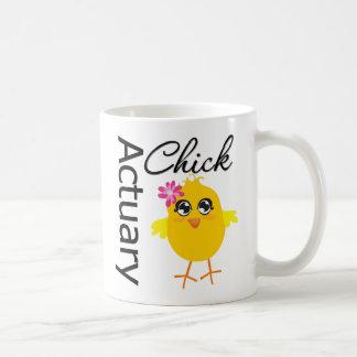 Polluelo del actuario taza