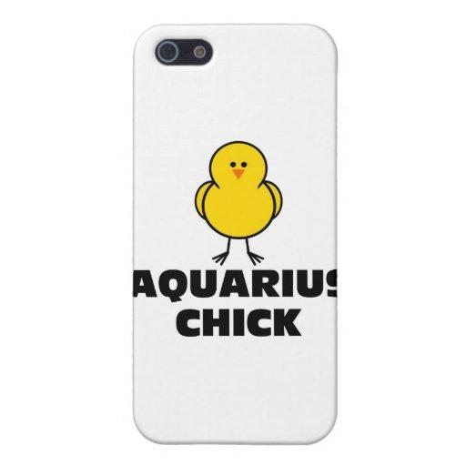Polluelo del acuario iPhone 5 protector