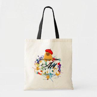 Polluelo del arte bolsas