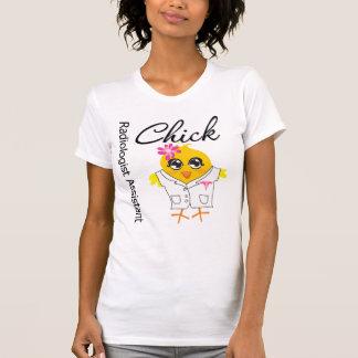 Polluelo del ayudante del radiólogo camiseta