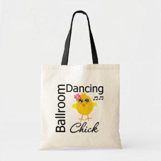 Polluelo del baile de salón de baile bolsa de mano