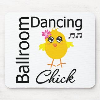 Polluelo del baile de salón de baile tapetes de ratones