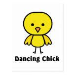 Polluelo del baile postal