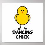Polluelo del baile posters