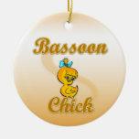 Polluelo del Bassoon Ornamente De Reyes