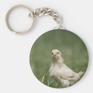Polluelo del bebé llavero