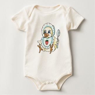 Polluelo del bebé mamelucos