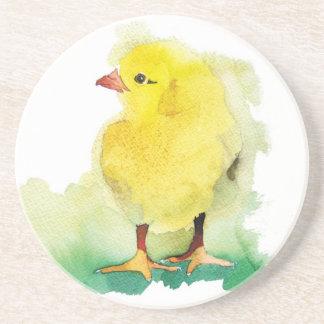 Polluelo del bebé posavaso para bebida