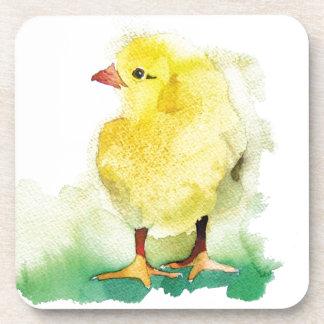 Polluelo del bebé posavasos