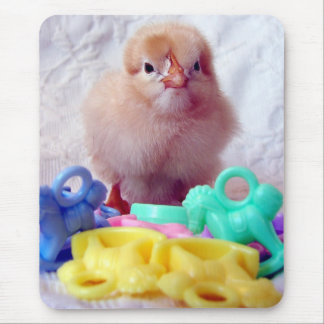 Polluelo del bebé alfombrillas de ratones