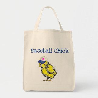 Polluelo del béisbol bolsa tela para la compra