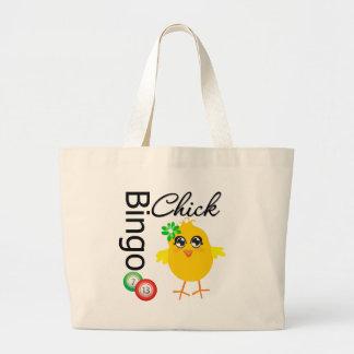 Polluelo del bingo bolsas de mano