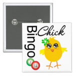Polluelo del bingo pin cuadrado