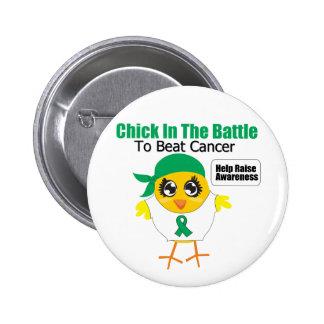 Polluelo del cáncer de hígado en la batalla para b pin