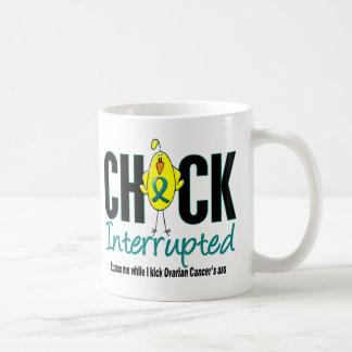 Polluelo del cáncer ovárico interrumpido taza de café