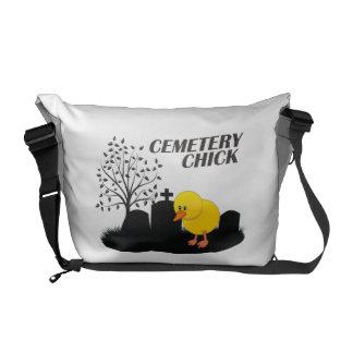 Polluelo del cementerio bolsas messenger