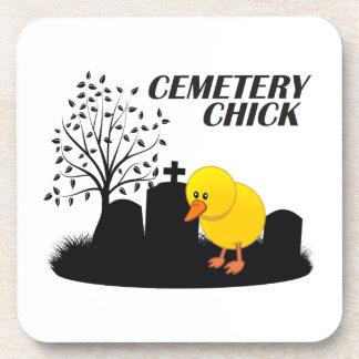 Polluelo del cementerio posavasos