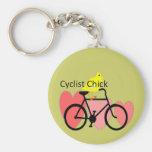 POLLUELO del ciclista--Biking, regalos del entusia Llavero Personalizado