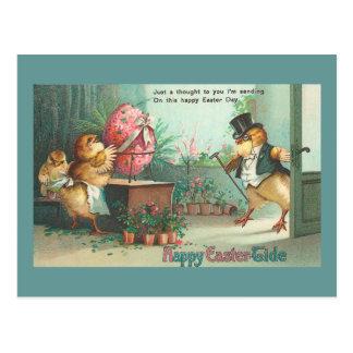 Polluelo del comprador del huevo del caballero tarjetas postales