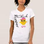 Polluelo del corredor camisetas