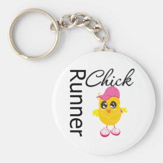 Polluelo del corredor llaveros personalizados