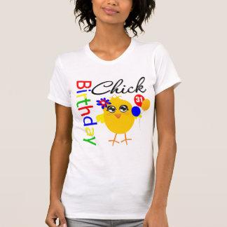 Polluelo del cumpleaños 31 años camisetas