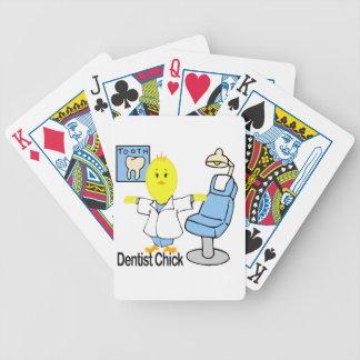 Polluelo del dentista cartas de juego