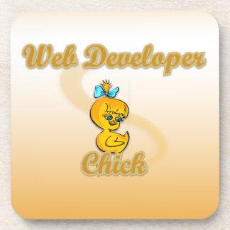 Polluelo del desarrollador de Web Posavaso