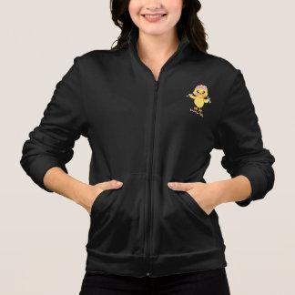 Polluelo del ejercicio (personalizable) chaqueta imprimida