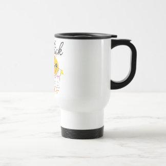 Polluelo del especialista de los informes médicos tazas de café
