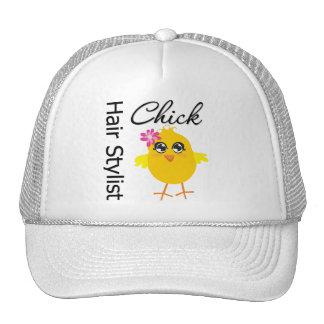 Polluelo del estilista gorras de camionero