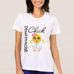 Polluelo del farmacéutico camiseta