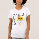 Polluelo del farmacéutico camisetas