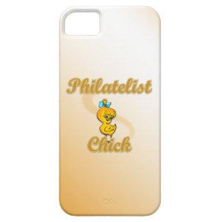 Polluelo del filatelista iPhone 5 Case-Mate cobertura