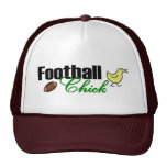 Polluelo del fútbol gorros