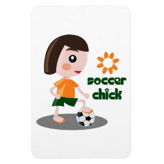Polluelo del fútbol iman