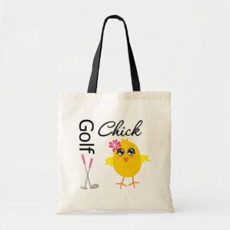 Polluelo del golf bolsas de mano