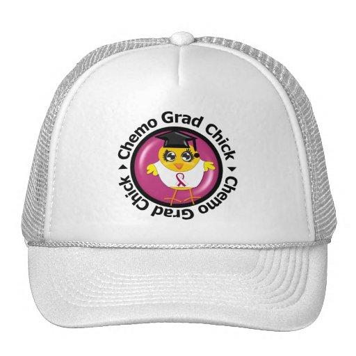 Polluelo del graduado de Chemo del cáncer de cabez Gorra