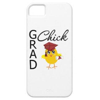 Polluelo del graduado iPhone 5 fundas