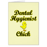 Polluelo del higienista dental felicitaciones