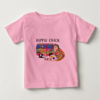 Polluelo del Hippie Playeras