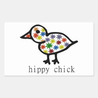 Polluelo del hippy rectangular altavoces