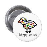 Polluelo del hippy pin