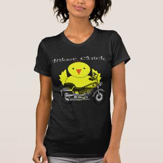 Polluelo del motorista camisetas