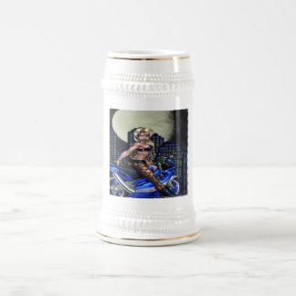 Polluelo del motorista - Stein Jarra De Cerveza