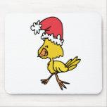 Polluelo del navidad alfombrilla de ratones