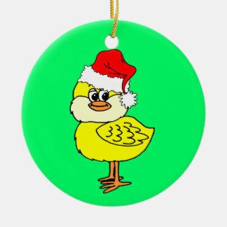 Polluelo del navidad ornamente de reyes