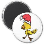 Polluelo del navidad iman de nevera