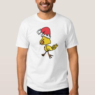Polluelo del navidad poleras